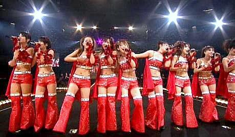 Morning Musume, Yokohama Arena, January 2008: Is a mass graduation imminent?